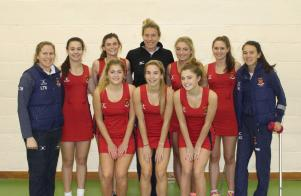 Felsted U19 with Lindsay Keable