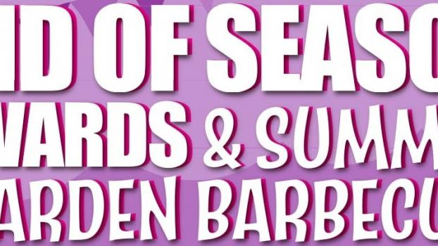 VENUE CHANGE : END OF SEASON AWARDS - SUNDAY 15TH JULY