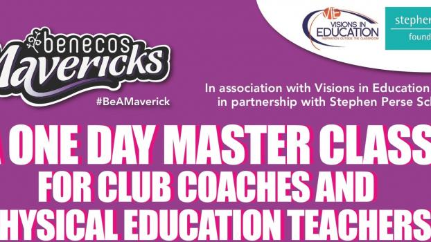 CPD MASTERCLASS & WORKSHOP FOR CLUB COACHES & PE TEACHERS