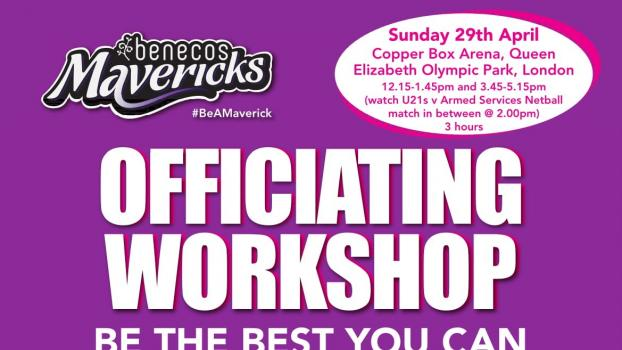 OFFICIATING WORKSHOP - BE THE BEST YOU CAN