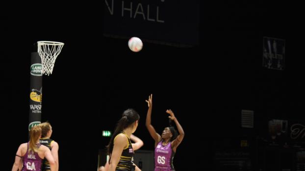 Mavericks Play Their Part in History as They Face Wasps Netball