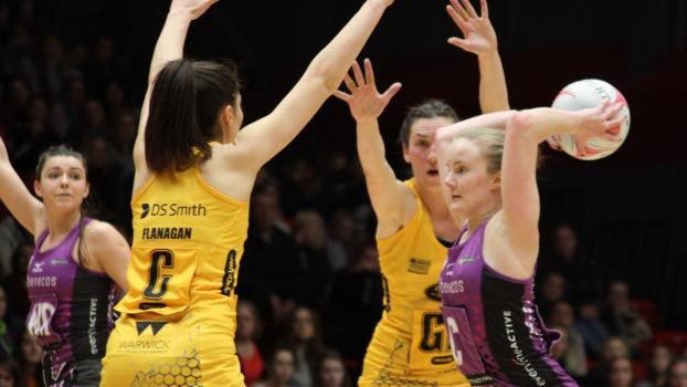 VNSL Round 4 Frustrating loss to Wasps Netball