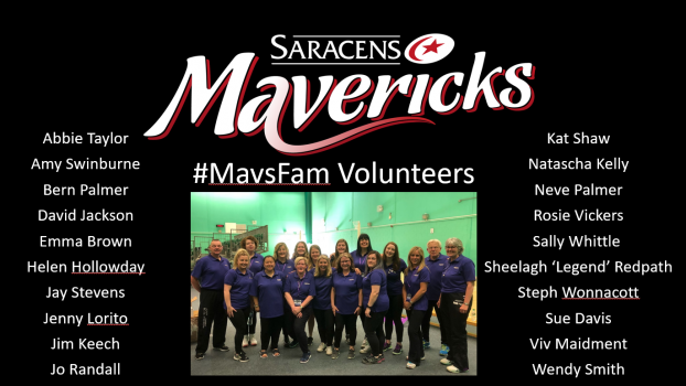 WANT TO BE PART OF SARACENS MAVERICKS?